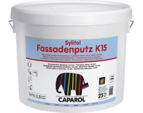 "Caparol Sylitol-Fassadenputz K 15 ""Шуба"" Фасадная штукатурка"
