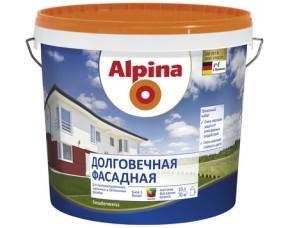 Долговечная фасадная краска Alpina