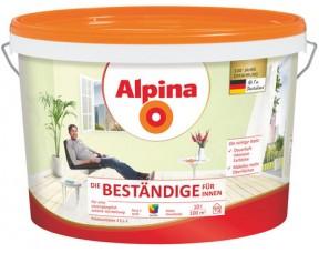 Стильная интерьерная краска Alpina