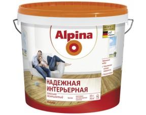Надежная интерьерная краска Alpina
