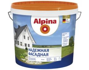 Надежная фасадная краска Alpina