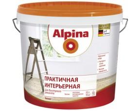 Практичная интерьерная краска Alpina