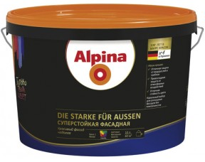 Суперстойкая фасадная краска Alpina