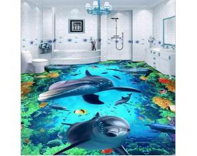 Эполаст-Декор - 3D наливной прозрачный эпоксидный пол