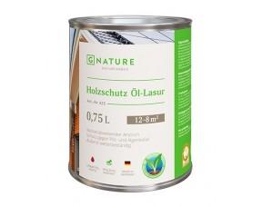 GNATURE Масло-лазурь для дерева 425 Holzschutz Öl-Lasur