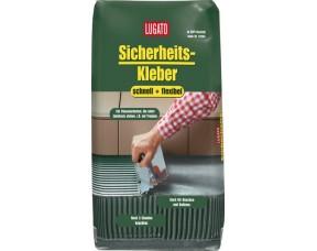 Быстросохнущий клей для плитки Sicherheitskleber Schnell+Flexibel Lugato