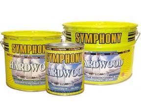 Symphony Hardwood Aqua яхтный ПУ лак (шелковисто-матовый)