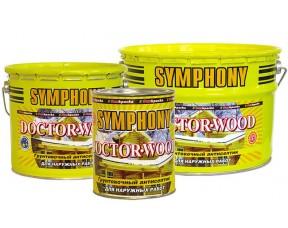 Symphony Doctor Wood/Доктор Вуд грунтовочный антисептик на основе льняного масла