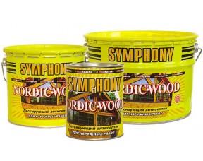 Symphony Nordic Wood – лессирующий антисептик на основе льняного масла