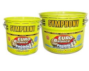 Symphony Euro-Balance Faсade Aqua водоразбавляемая акриловая щелочестойкая краска
