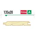 Имитация бруса крашеная 135*20 сорт Prima