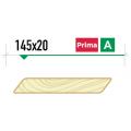 Планкен скошенный крашеный 145х20 сорт Prima