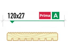 Крашенная террасная доска Вельвет 120/27 сорт Prima