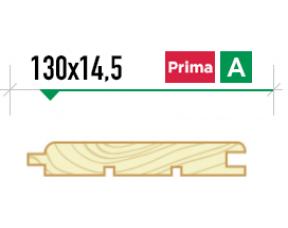 Крашеная вагонка Штиль 130*14,5 сорт Prima