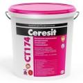 Ceresit CT 174/Церезит Штукатурка силикатно-силиконовая Камешковая 1,5 мм