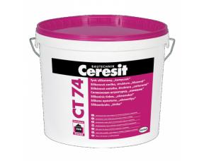 Ceresit CT 74/Церезит Штукатурка силиконовая Камешковая 2,5 мм