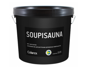 Colorex Soupisauna матовый лак