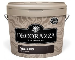 Decorazza Velours / Декоразза Велюр декоративное покрытие с эффектом бархата