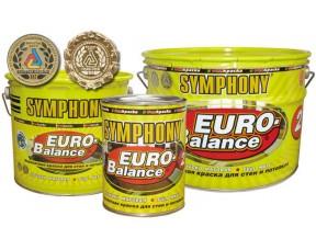 Symphony Euro Balance 2 акрилатная глубоко матовая краска Супер-белая