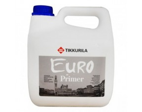 Tikkurila Euro Primer / Тиккурила Евро Праймер грунтовка укрепляющая