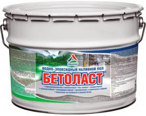 Бетоласт — водно-эпоксидный наливной пол КрасКо