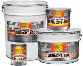 Цельсит-600 эмаль термостойкая кремнийорганическая