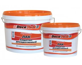 Защитно-декоративный лак DecoTech