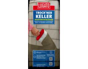 "Гидроизоляция ""Сухой подвал"" Trockner Keller Dichtungsschlamme Lugato"
