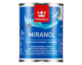 Tikkurila Miranol / Тиккурила Миранол (база С) ударопрочная краска для дерева и металла высокоглянцевая