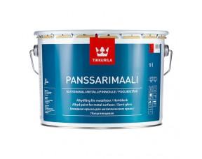 Tikkurila Panssarimaali / Тиккурила Панссаримаали (база С) краска для металлических крыш полуглянцевая