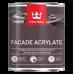 Tikkurila Facade Acrylate / Тиккурила Фасад Акрилат (база А) универсальная краска