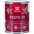 Tikkurila Euro Pesto 10 / Тиккурила Евро Песто 10 (база А) эмаль универсальная матовая