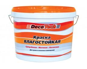 Влагостойкая интерьерная краска Decotech Eco