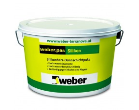 Weber-Vetonit pas silikon Штукатурка силиконовая Короед 2 мм