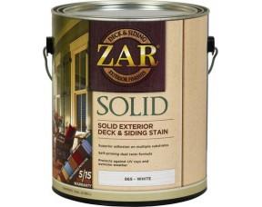 Укрывное масло для наружных работ ZAR Solid Color Deck & Siding Exterior Stain
