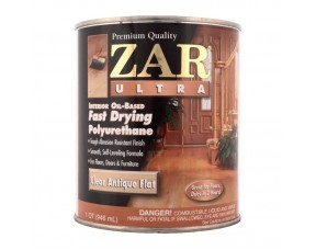 Полиуретановый лак ZAR Ultra Interior для внутр. работ