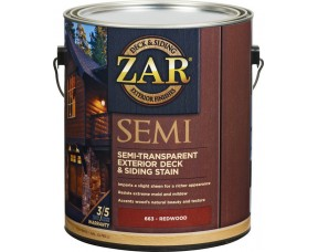 Масло для наружных работ ZAR Semi-Transparant Deck and Siding