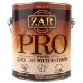 Прфессиональный ПУ лак ZAR Pro Quick Dry Polyurethane для внутр. работ
