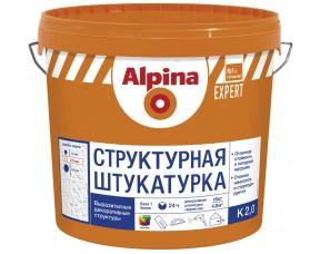 Структурная фасадная штукатурка K 20 EXPERT Alpina