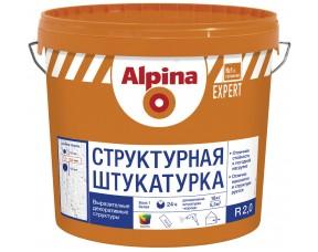 Структурная фасадная штукатурка R 20 EXPERT Alpina