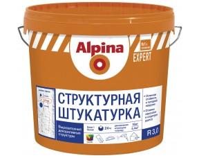 Структурная фасадная штукатурка R 30 Alpina EXPERT