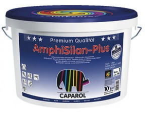 Caparol AmphiSilan-plus/Капарол Амфисилан-Плюс фасадная краска