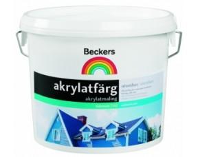 Beckers Akrylatfarg/Беккерс Акрилатфарг универсальная фасадная краска