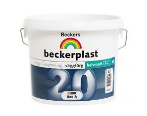Beckers Beckerрlast 20/Беккерс Беккерпласт 20 Полуматовая краска для стен и потолков