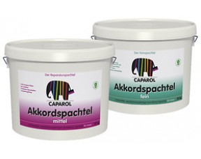 Caparol Akkordspachtel fein Шпаклевка для небольших стыков и дефектов