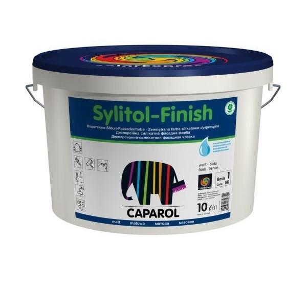 Caparol Sylitol-Finish/Капарол Силитол-Финиш Фасадная краска (Германия)
