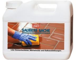 Средство для удаления затирки Saubere Sache Zementschleierentferner Lugato