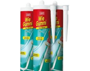 Санитарный герметик Wie Gummi Bad-Silicon Lugato
