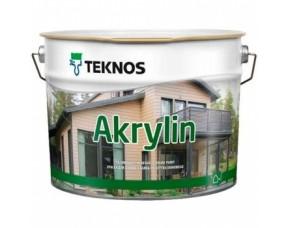 Teknos Akrylin/Текнос Акрилин Краска для дерева