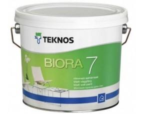 Teknos Biora 7/Текнос Биора 7 Матовая краска для стен